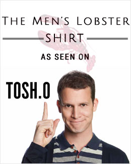 Lobster Shirt Seen on Tosh.0
